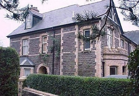 House in Castle (Abergavenny), Wales