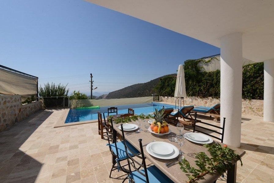 Villa in Turkey with 2 bedroom, en suites, private pool, seaview