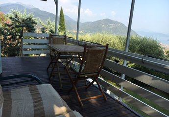 Villa in Italy, Salò: Terrace