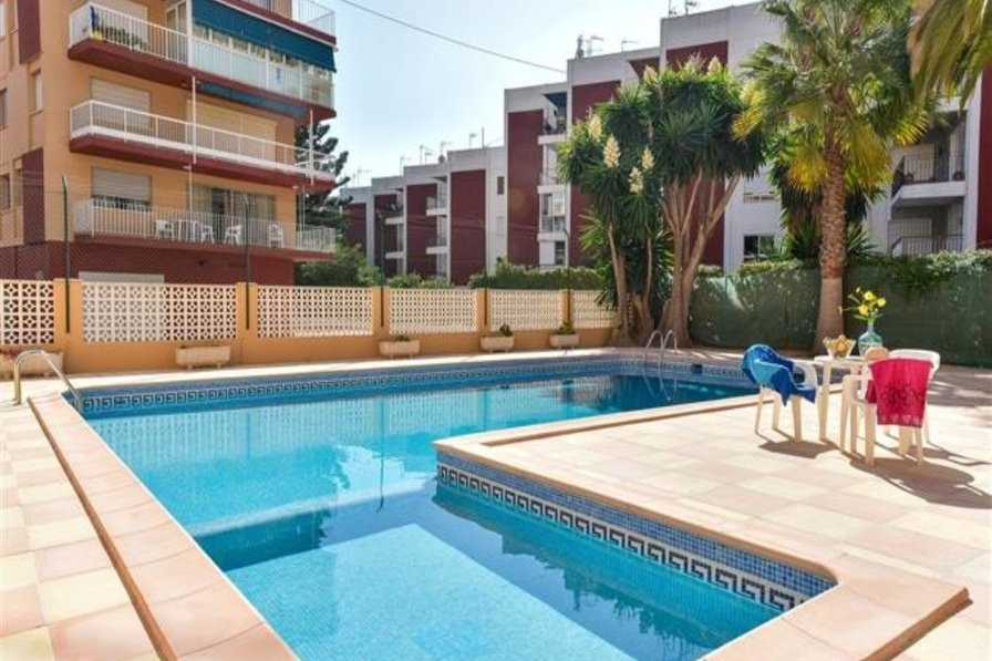 Holiday Home, Javea Arenal, 3 bed, 2 bath, A/C, pool, wifi