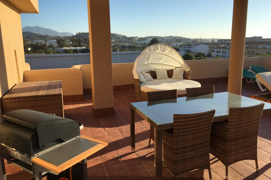 La Cala de Mijas 2 Bedroom Penthouse no car needed