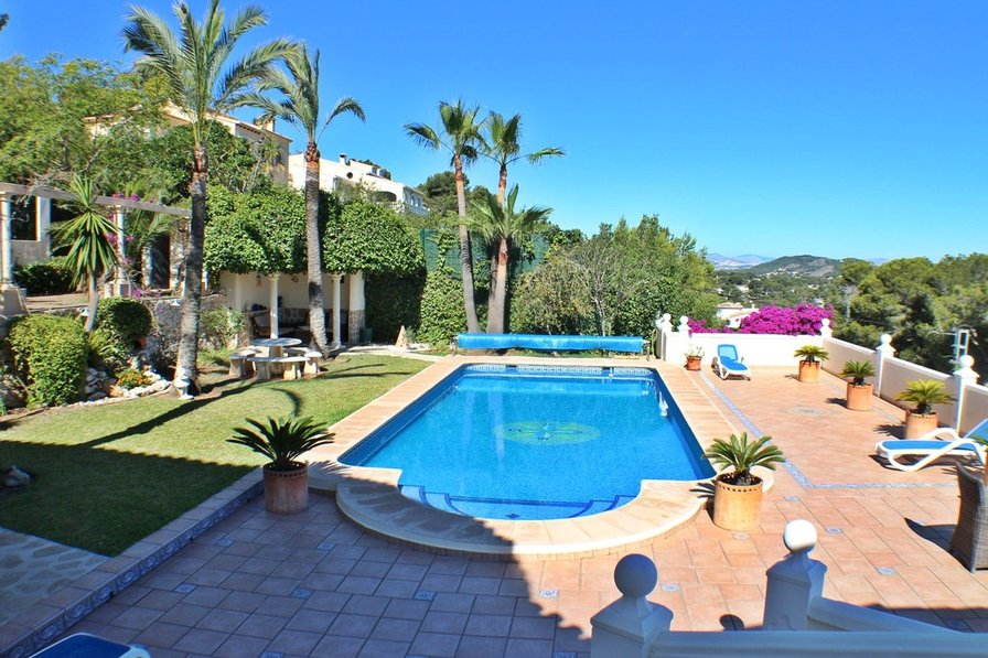 Javea, HolidayHome, Noa, pool, views,4 bedr, 4 bathr, airco, wifi