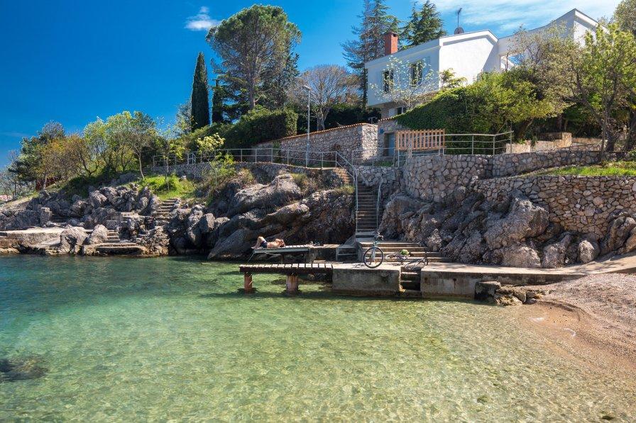 Villa in Croatia, Vantačići