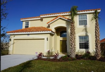Villa in USA, Davenport: Brand new luxury 6 bed villa , private Pool, home cinema, near Disney