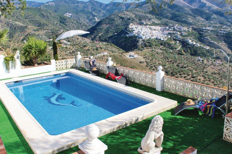 Villa To Rent In Canillas De Albaida Spain With Swimming Pool 189839