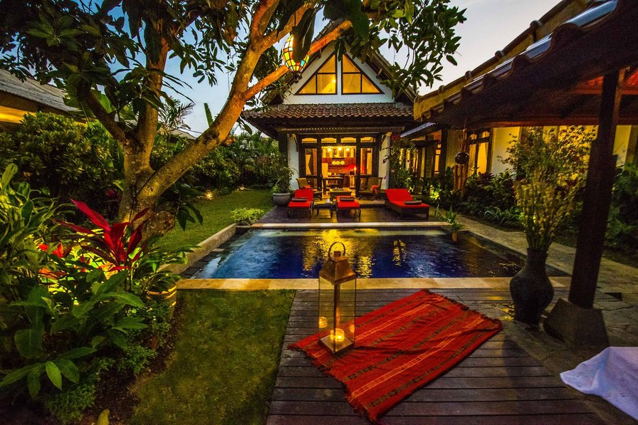 Jimbaran Hidden Paradise Villa with 4 Bedrooms!