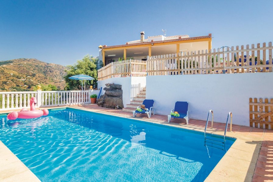 Villa To Rent In Torrox Spain With Swimming Pool 190972