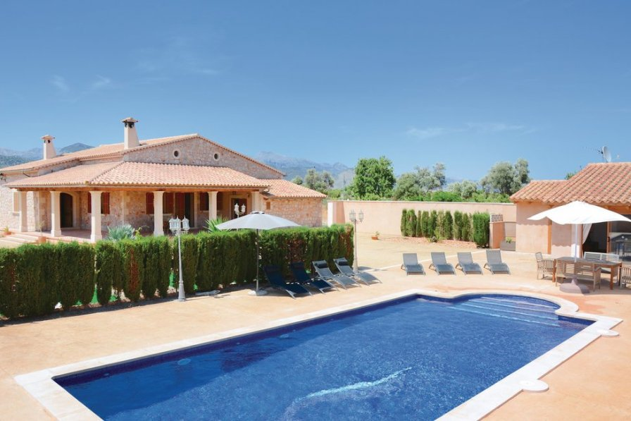 Villa To Rent In Binissalem Majorca With Swimming Pool 191028