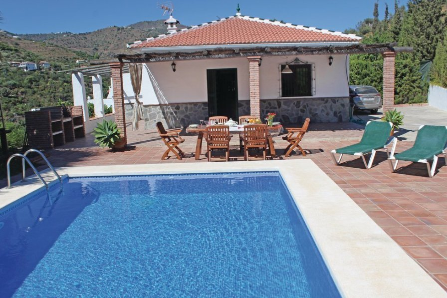 Villa To Rent In Torrox Spain With Swimming Pool 191166