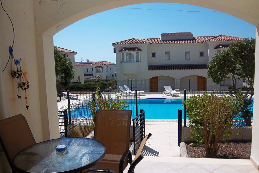 Holiday villa right by the pool in a holiday resort, North Cyprus