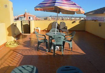 Apartment in Spain, Los Montesinos: The roof terrace