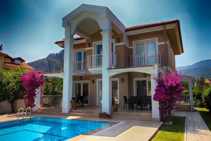 Villa To Rent In Gulpinar Area Turkey With Private Pool