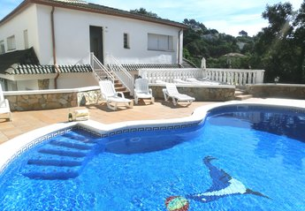 6 bedroom Villa for rent in Lloret de Mar