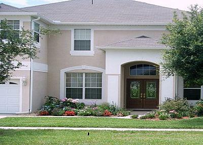 Villa in USA, Emerald Island: Front