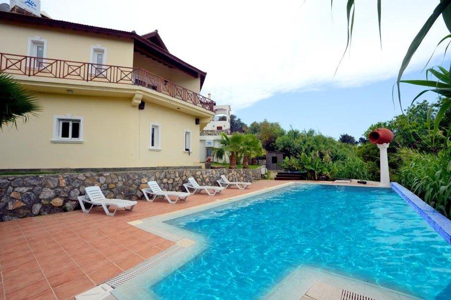 Villa To Rent In Karaoglanoglu Cyprus With Private Pool