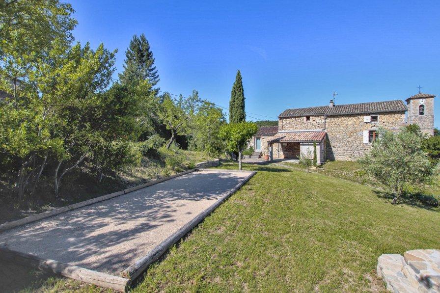 Villa in France, Rochecolombe