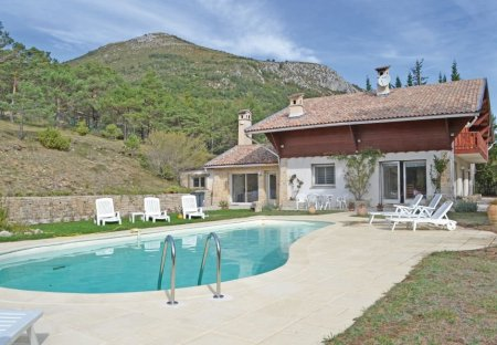 Villa in La Bastide, the South of France