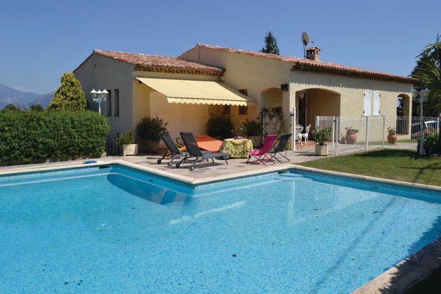 Holiday villa in Saint-Pancrace-Pessicart with swimming pool
