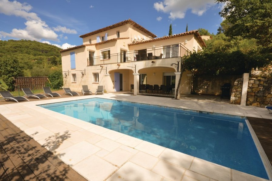Villa with private pool in Fayence
