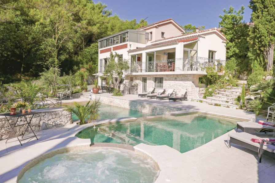 Villa in France, Èze