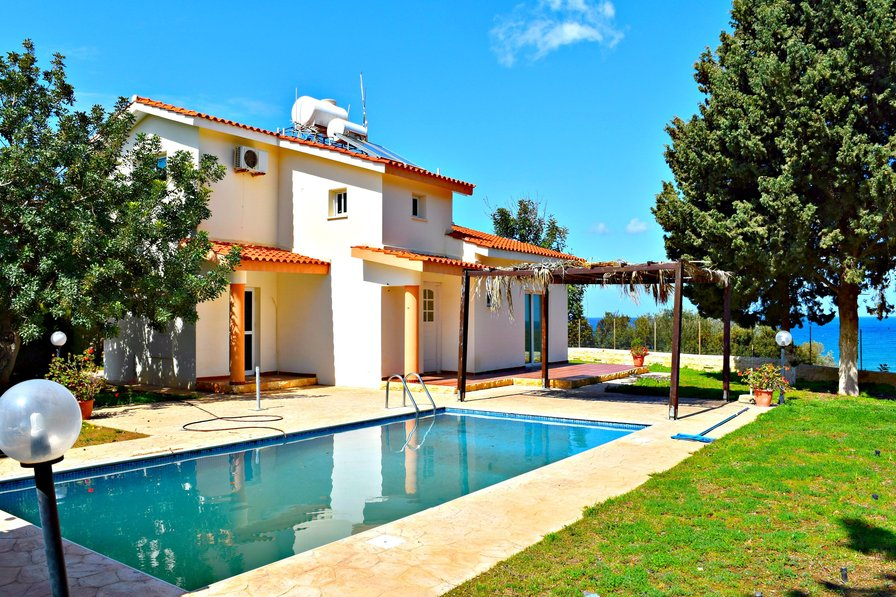 Latchi Villa -Tourist Location-Outstanding Sea Views-Private Pool