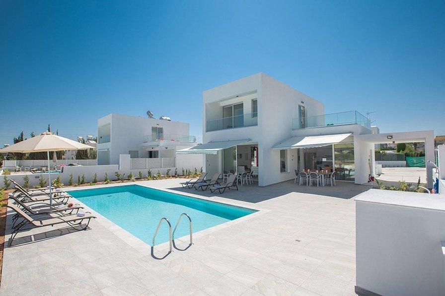 Greco Villa No.4, Private Pool in Protaras center