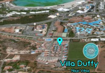 Villa in Cyprus, Nissi Beach: Close to the famous Nissi Beach and all the main Ayia Napa hotels