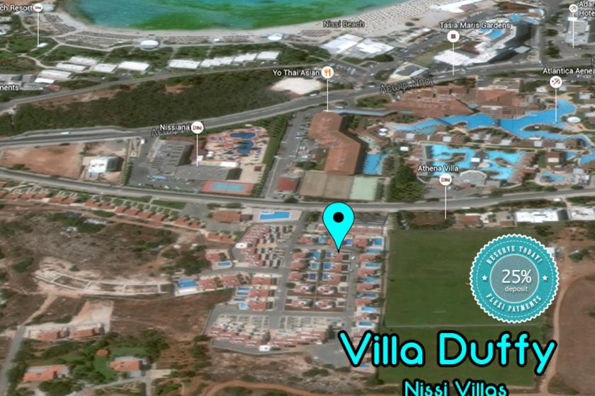 Villa Duffy Nissi Beach Cyprus