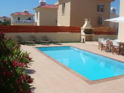 Villa in Cyprus, Nissi Beach: Garden Area