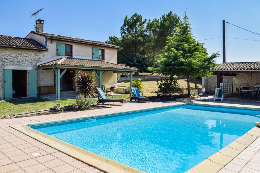 Villa in France, Sainte-Gemme (Gironde):