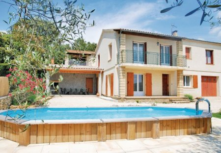 Villa in Vallabrix, the South of France