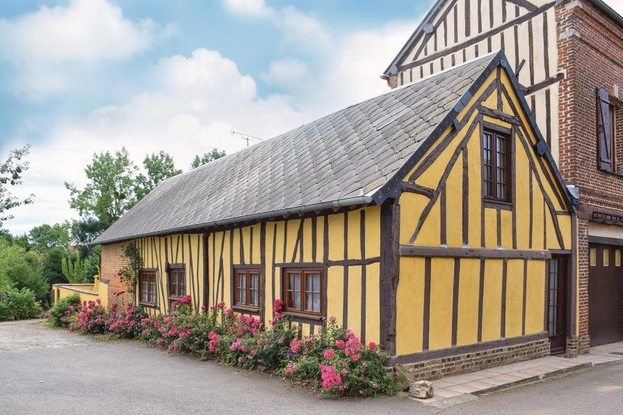 Villa in France, Sap-en-Auge: Omreg.