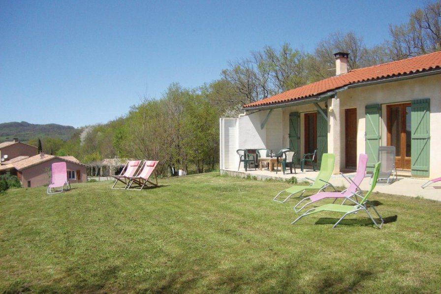 Villa rental in Ariege with private pool