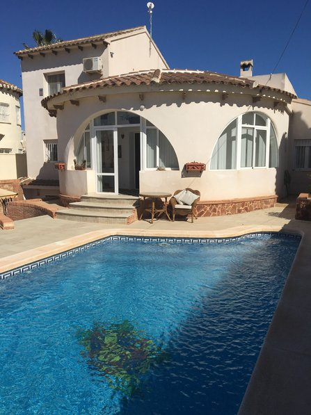 Villa To Rent In Las Filipinas Spain With Private Pool