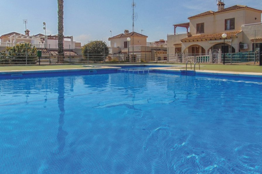 Holiday villa in Los Balcones with shared pool