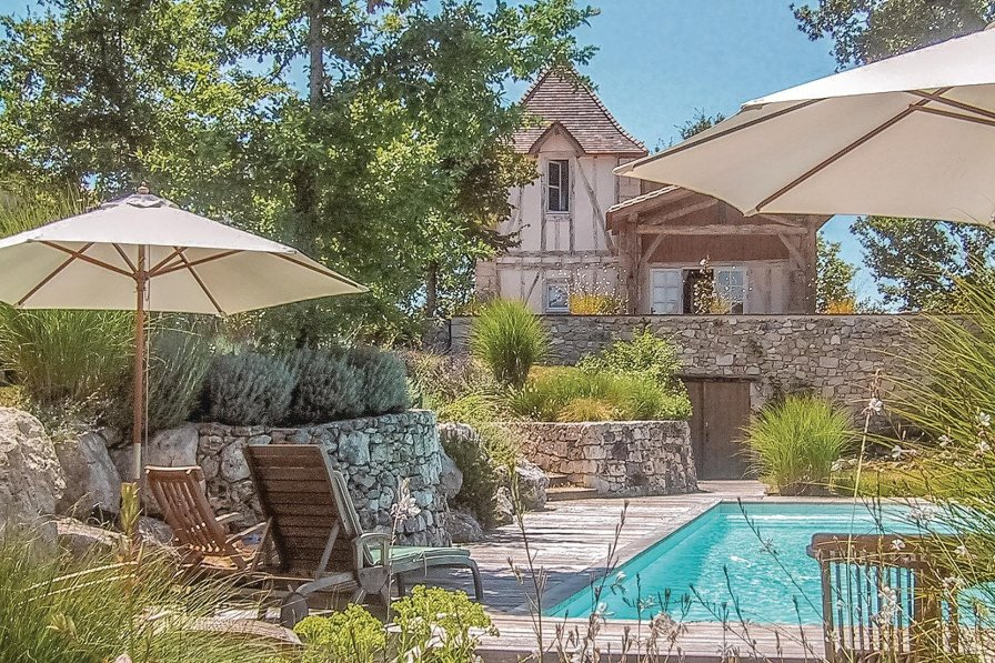 Owners abroad Beauville holiday villa rental with private pool