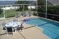 Villa in USA, Clermont: The pool