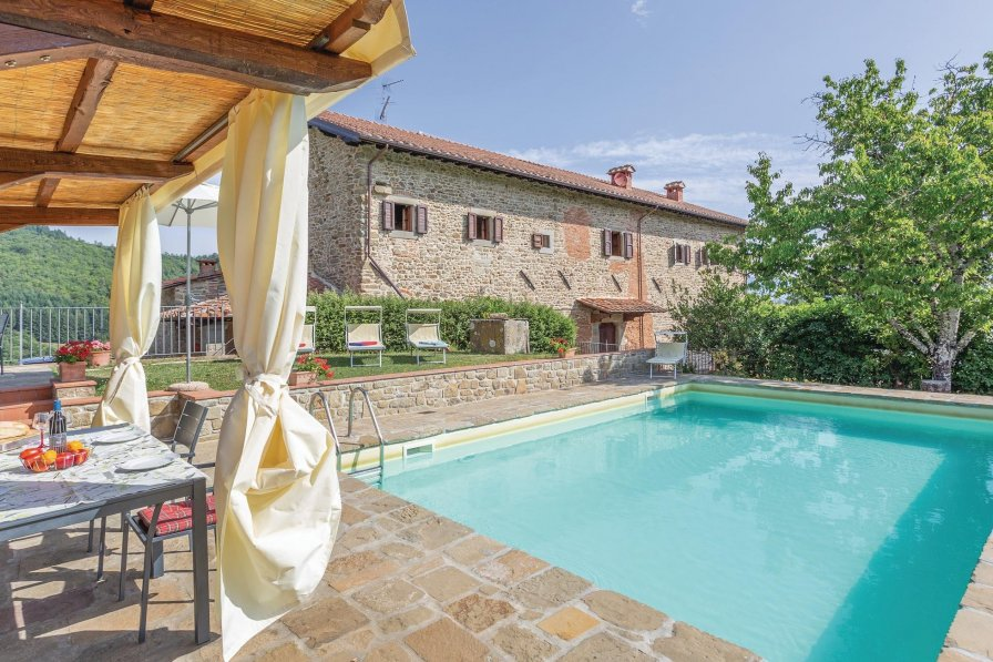 Apartment To Rent In Ortignano Italy With Swimming Pool