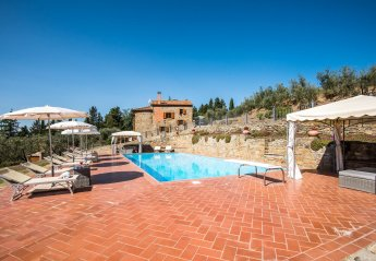 7 bedroom Villa for rent in Castiglion Fiorentino