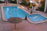 Apartment in Egypt, Hurghada: the pool area