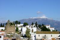 Village_house in Spain, Comares: Winter view from one of the roof terraces