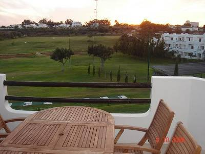 Apartment in Portugal, Semino: Balcony view on to driving range