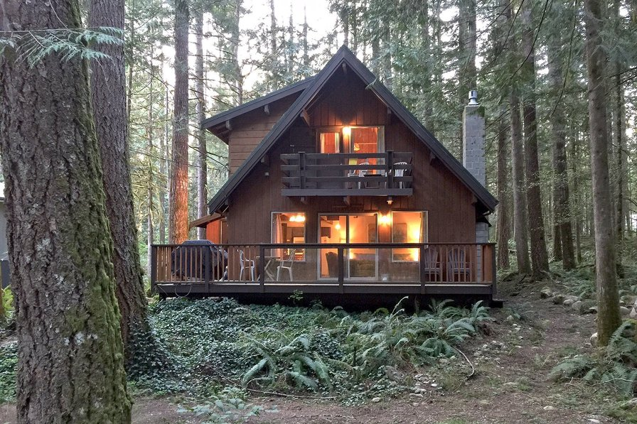 Cabin in USA, Washington