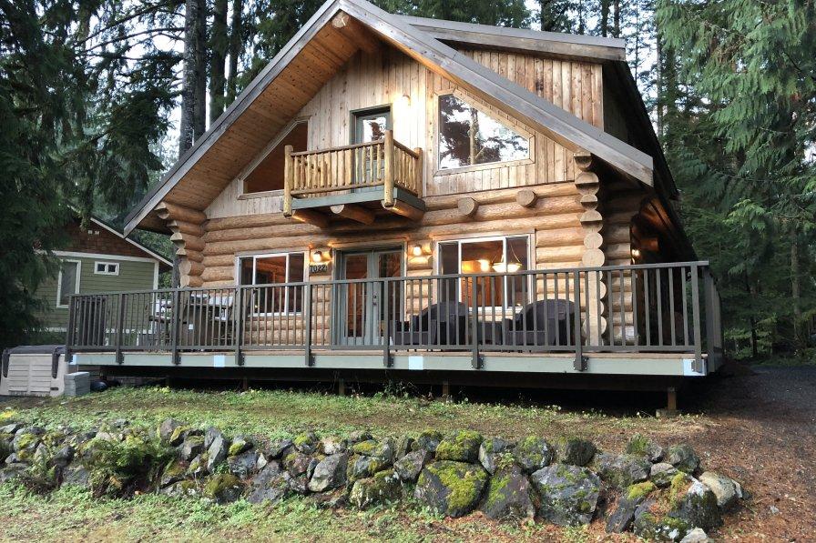 Cabin in USA, Mount Baker