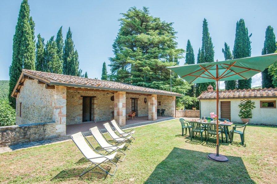 Villa in Italy, Simignano