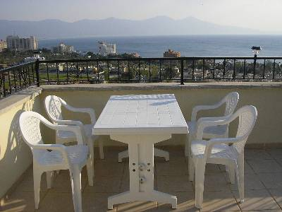 Villa in Turkey, Long Beach: View from Roof Terrace