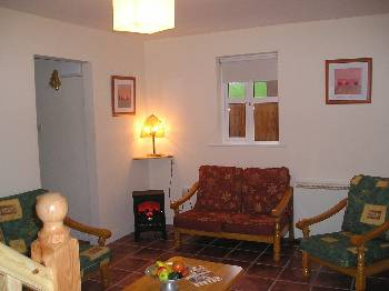 Cottage in Ireland, Lismore: living room