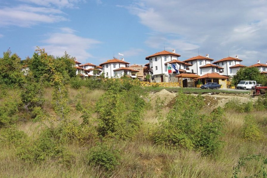 Apartment rental in Kosharitsa with shared pool