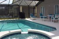 Villa in USA, Glenbrook: Pool, Spa and extended deck with patio furniture