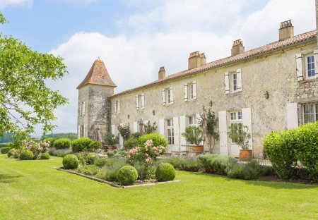 Chateau in Riocaud, France